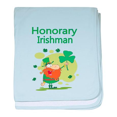 Honorary Irishman baby blanket