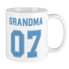 Blue Grandma 07 Mug