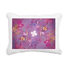 Flower Power Rectangular Canvas Pillow