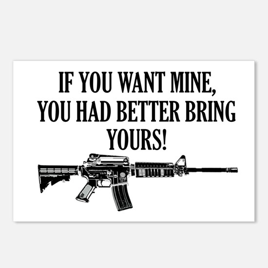 If You Want Mine, You Had Better Bring Yours! Post
