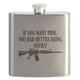 Gun rights Flasks