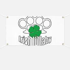 Shamrock Irish Lullaby. Banner