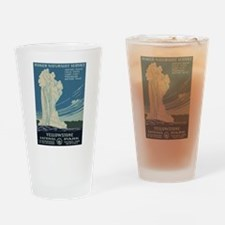 Yellowstone Drinking Glass