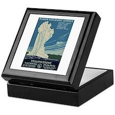Yellowstone Keepsake Box