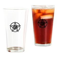 Snake Pentagram Drinking Glass
