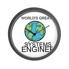 Worlds Greatest Systems Engineer Wall Clock
