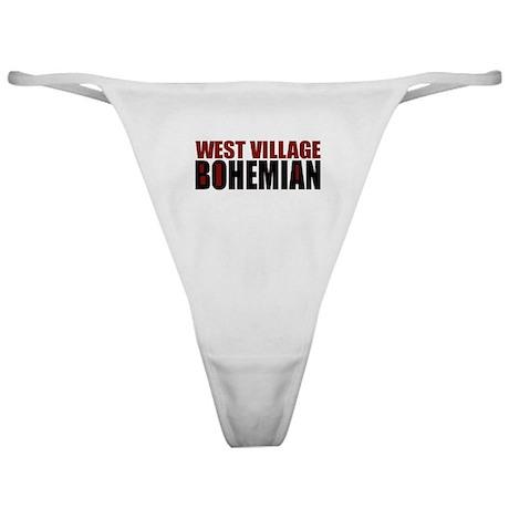 Greenwich Village Bohemian Classic Thong