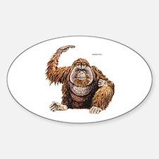 Orangutan Ape Decal