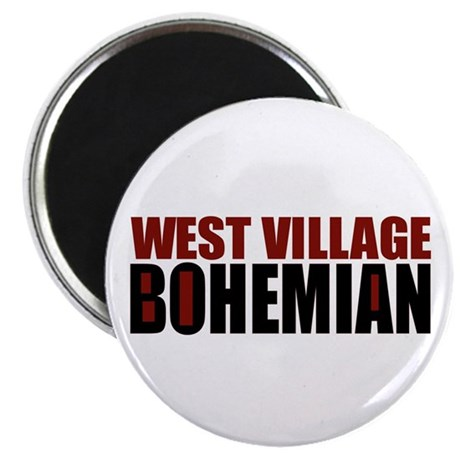 "Greenwich Village Bohemian 2.25"" Magnet (10 pack)"