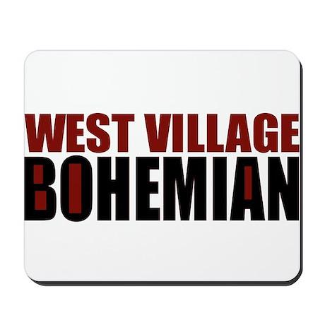 Greenwich Village Bohemian Mousepad