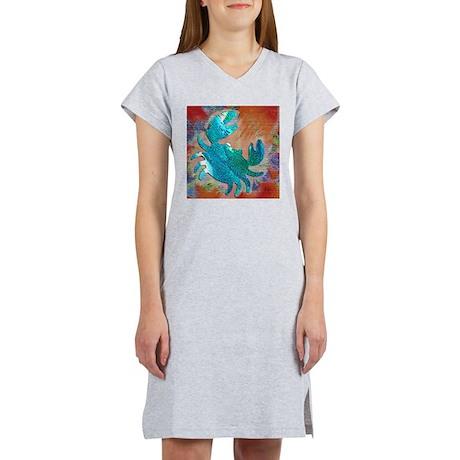 Summer Crab Women's Nightshirt