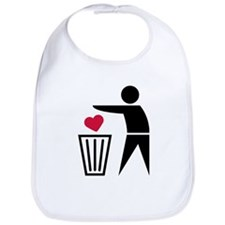 garbage_can_heart Bib