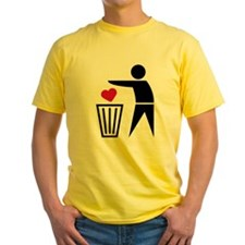 garbage_can_heart T-Shirt