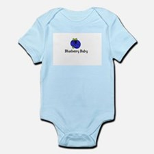 Infant Blueberry Onesie Body Suit