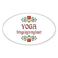 Yoga Joy Decal