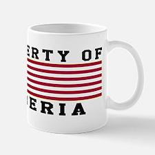 Property Of Liberia Mug