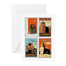 Sanctuario de Guadalupe Greeting Cards (Package of