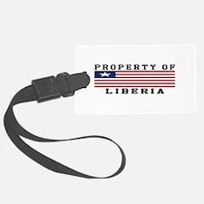 Property Of Liberia Luggage Tag