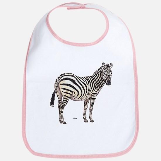 Zebra Animal Bib