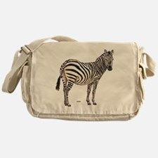 Zebra Animal Messenger Bag