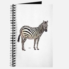 Zebra Animal Journal