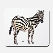 Zebra Animal Mousepad