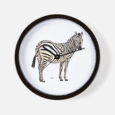 Zebra Animal Wall Clock