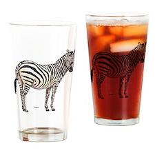 Zebra Animal Drinking Glass