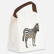 Zebra Animal Canvas Lunch Bag