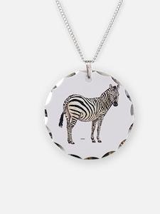 Zebra Animal Necklace