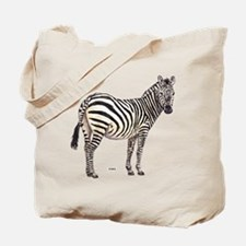 Zebra Animal Tote Bag