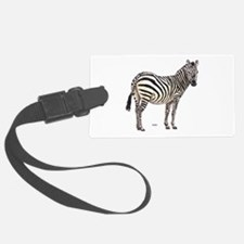 Zebra Animal Luggage Tag