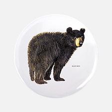 "Black Bear 3.5"" Button"