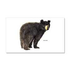 Black Bear Car Magnet 20 x 12
