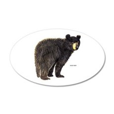 Black Bear Decal Wall Sticker