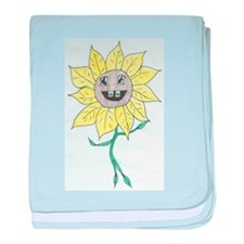 Youth Daisy baby blanket