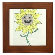 Youth Daisy Framed Tile
