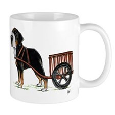 betty-on-cart-cuout Mugs