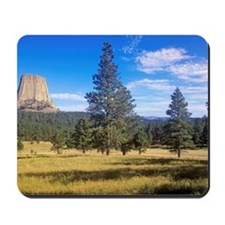 """""""Devil's Tower National Monument, Wyoming Mousepad"""