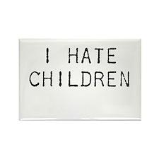 I Hate Children Rectangle Magnet