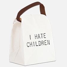 I Hate Children Canvas Lunch Bag