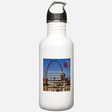 Go West To Join The Quest Water Bottle