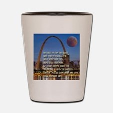 Go West To Join The Quest Shot Glass