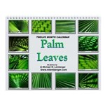Palm Leaves Wall Calendar