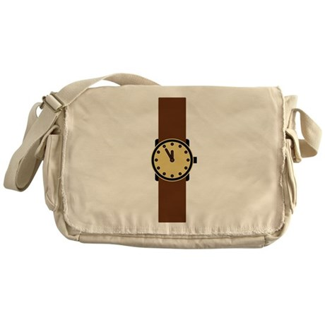 wristwatch Messenger Bag