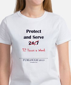 Protect and Serve Women's T-Shirt