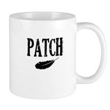patch with feather trans higher Mugs