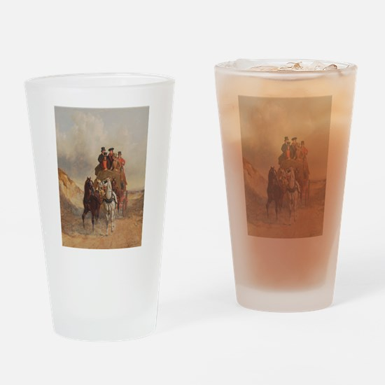 The Royal Coach Ride Drinking Glass