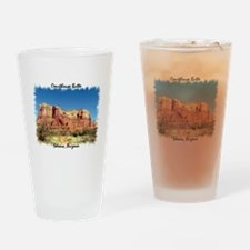 Courthouse Butte Drinking Glass