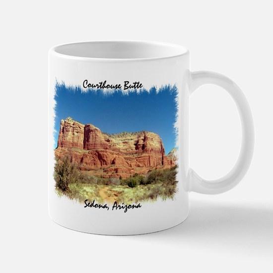 Courthouse Butte Mug